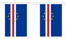 CAPE VERDE BUNTING - 9 METRES 30 FLAGS